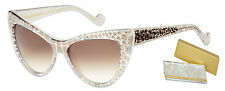 Marilyn Monroe Silver Frame Cat Eye Designer Womens Sunglasses - The Marilyn
