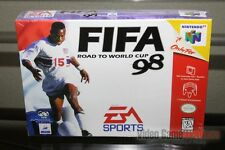 FIFA: Road to World Cup 98 (Nintendo 64, N64 1997) FACTORY SEALED! - RARE!