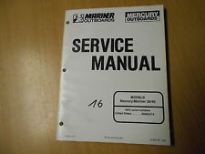Werkstattbuch Service manual Outboard Mariner Mercury 30 hp PS / 40 hp PS