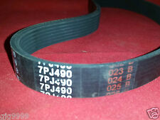 7PJ490 Drive Belt For Qualcast Soverign Argos Hombase Electric Rotary Lawnmowers