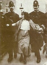 Suffragette Dora Thewlis arrested by Police 1907 Feminism 7x5 Inch Reprint Photo