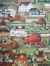 Country Store Americana Scenic Landscape Windham Cotton Quilting Fabric Yard
