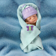 ASHTON DRAKE Bundle of Joy 4'' Baby Doll by Sherry Rawn NEW