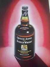 1964 Pub Advert Print  Queen Anne rare Scotch Whisky