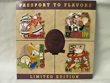WDW - Brand New! Disney Epcot Food and Wine Festival 2015 - 4 Pin Set LE 2000