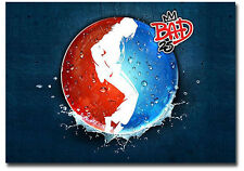 "Moonwalk Bad Michael Jackson Pepsi Advertising Fridge Magnet 3.5"" x 2.5"""