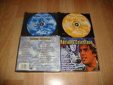 ADRIANO CELENTANO MUSIC CD DEL AÑO 2001 CON 2 DISCOS USADO EN BUEN ESTADO