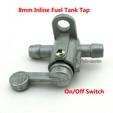 On Off  5/16'' Inline Fuel Petcock Tank Tap Switch Pit Dirt Bike ATV Buggy Quad