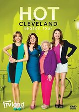 Hot in Cleveland Complete 4th Fourth Season 4 Four DVD Set TV Series Show Box R1