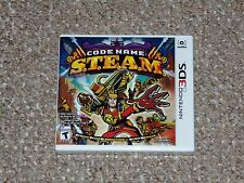 Code Name: S.T.E.A.M. Nintendo 3DS Brand New Factory Sealed