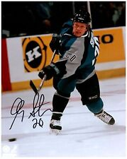 San Jose Sharks GARY SUTER Signed Autographed 8x10 Pic A