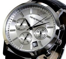 New Men's Emporio Armani AR2436 Watch Tags Warranty Box RRP $549