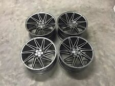 "19"" Veemann V-FS26 Directional Wheels - Gun Metal - VW Audi Mercedes 5x112"