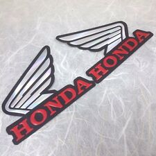 2D Reflect 2X Honda Red Wings Fuel Gas Tank Motocross Decal Emblem Stickers