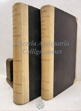 DIRITTO: Lodovico Mortara, MANUALE di PROCEDURA CIVILE 2 voll 1929 UTET pretori