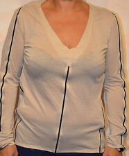 Tee-shirt manches longues MARITHÉ FRANCOIS GIRBAUD Taille 38 beige