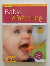 Baby Ernährung Astrid Laimighofer GU Ratgeber Kinder Rezeptteil