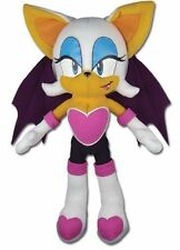 "NEW AUTHENTIC Great Eastern - 8.5"" Rouge the Bat(GE-87542) Plush Doll Sonic Hedg"