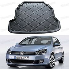 Black Car Boot Pad Cargo Mat Trunk Liner Tray for VW Golf MK6 2009-2012 10 11