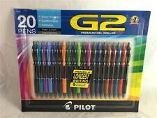20 Pack Pilot G2 Ball Point Pens Assorted MultiColor Gel Ink Fine Point 0.7mm