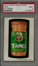 1973 Topps Wacky Packages Fang 4th Series Tan Back PSA 9 MINT Non-sport Card