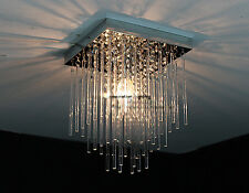 20CM LED CRYSTAL CEILING CHANDLIER CHARICTERISTIC PRISM LAMP LIGHTS