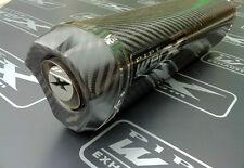 Yamaha Yzf 600 Thundercat, Fibra De Carbono Tri Oval, De Carbón De Salida De Escape, puede