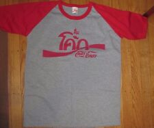 Coca Cola Unisex Medium Thailand Tshirt Grey/Red 100% Cotton