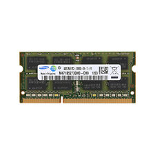 4GB 1x4GB PC3-10600S DDR3 SDRAM 1333MHz 204Pin Sodimm Memory Apple MAC Samsung