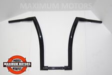 "BLACK 1 1/2 CUSTOM 18"" APE DNA MONSTER BARS FOR ROADKING ROADGLIDE SOFTAIL DYNA"