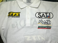Opel Racing Motorsport Polo Shirt DTM ATS Sat1 Euroteam OPC Aramis edel M Medium