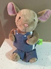 "ZOOBIES BOOK BUDDIES ""IF YOU GIVE A MOUSE A COOKIE"" PLUSH STORYBOOK"