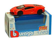 LAMBORGHINI AVENTADOR LP700-4 in Orange - 1:43 Die-Cast Car Toy Model by Burago