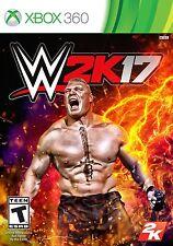 WWE 2K17 (Microsoft Xbox 360, 2016)