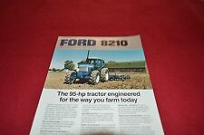 Ford 8210 Tractor Dealers Brochure MISC