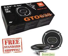 """JBL GTO638 360W 6.5""""/6.75"""" 3-Way Grand Touring GTO Coaxial Car Stereo Speakers"""
