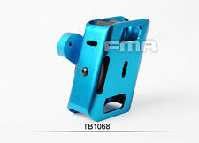 NEW Blue CNC Aluminium IPSC 360 Degrees Rotate Magazine Pouch For Pistol Airsoft