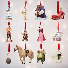 Disney Beauty & the Beast Deluxe Limited Edition Sketchbook Ornament Set Lumiere