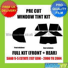 SAAB 9-5 ESTATE (1ST GEN) 2000-2004 FULL PRE CUT WINDOW TINT KIT