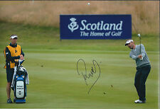 Raphael JACQUELIN SIGNED Autograph GOLF Photo AFTAL COA Dunhill Links Winner