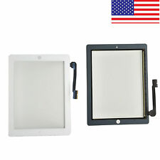 USA For iPad the New iPad iPad 4 iPad 3 White Replacement Touch Screen Digitizer