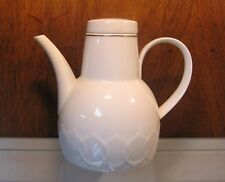 ROSENTHAL Lotus White Coffee Pot With Gold Trim Bjorn Wiinblad Design 5 Cup