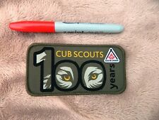 NEW SCOUT FANCY CUB SCOUT 100TH YEAR 2016 BIRTHDAY BADGE  LOOK !!!