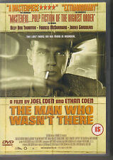THE MAN WHO WASN'T THERE - Joel & Ethan Coen -  Reg 2 DVD