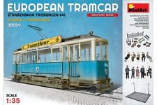 Miniart 38009 1/35 European Tramcar With Crew And Passengers