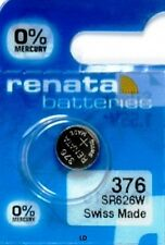 376 RENATA SR626W SR626SW SR66 WATCH BATTERY New Authorized Seller