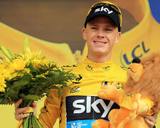 Chris froome Tour De France podio 10x8 Foto