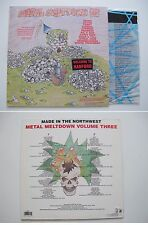 various METAL MELTDOWN 3 III LP 1988 Cyperus, Kil d'kor, Coven, SPEED METAL