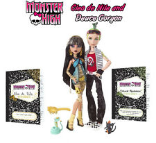 MONSTER HIGH Cleo de Nile & Deuce Gorgon Original Release 2 pack Medusa mummy