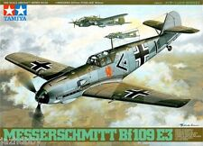 Tamiya 61050 1/48 Scale Model Aircraft Kit Luftwaffe Messerschmitt Bf 109 E-3